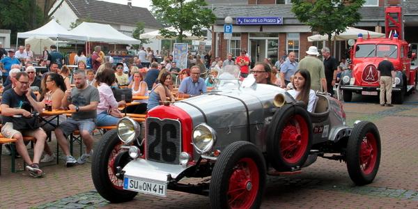 Der älteste Wagen des Oldtimertreffens war dieser Nash 400 Le Mans von 1926