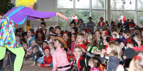 Kinderkarnevalsfeier der kleinen Jecken