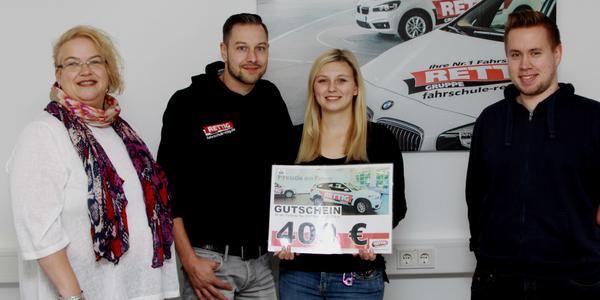 Claudia Ringsleben, Ingo Belz, Anna Fregien und Daniel Eich (von links nach rechts)