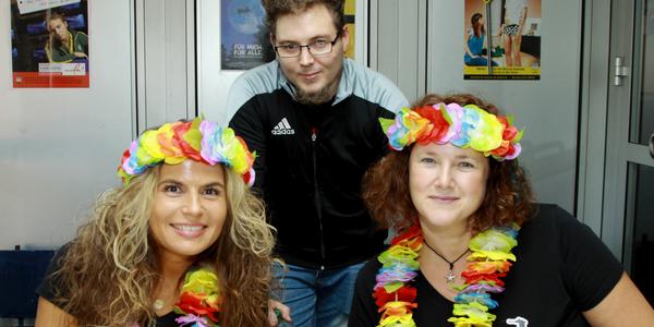 Mirja Weber, Christopher Loos und Gaby Schmid-Verwey (von links nach rechts)