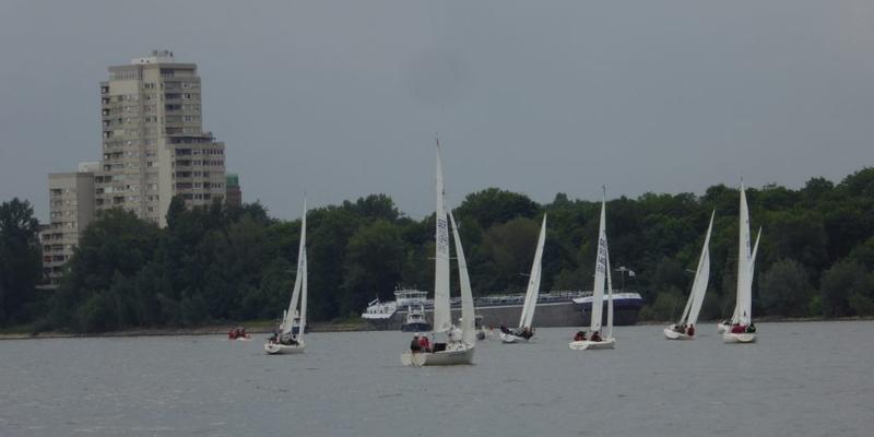 Segelregatta Rheinwoche startet in diesem Jahr in Porz