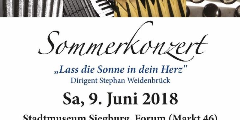 Sommer-Konzert des Akkordeon-Orchesters