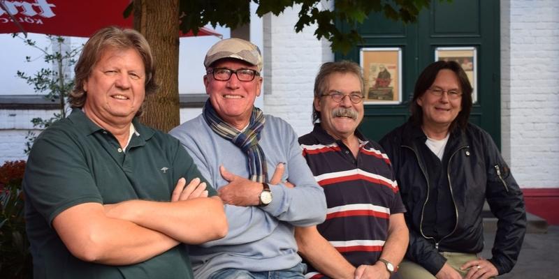 Sie freuen sich auf die nächsten Kulinarischen Verzällcher in Mondorf: Roland Kulik, Hansgeorg Fuhrmann, Jupp Ubber und Pete Haaser