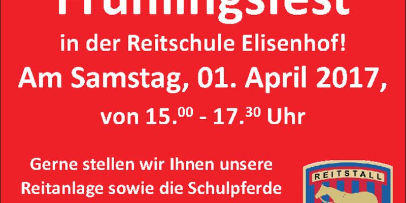 Frühlingsfest Reitschule Elisenhofen