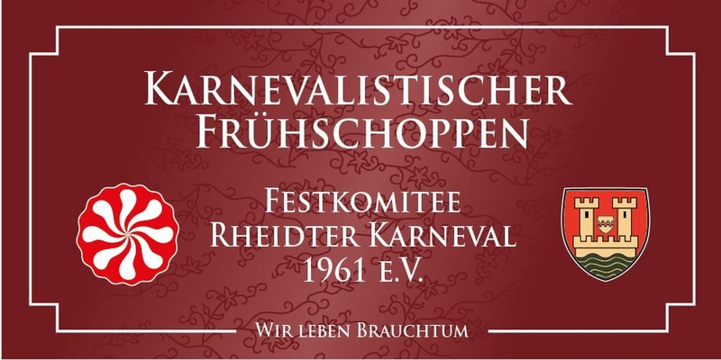 Karnevalistischer Frühschoppen in Rheidt