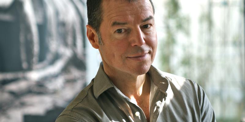 Horst Eckert auf einem Foto von Kathie Wewer