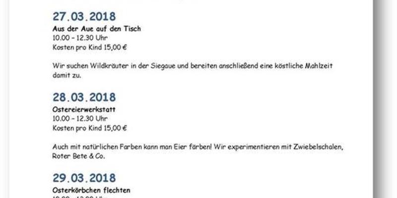 Osterferienprogramm Fischereimuseum