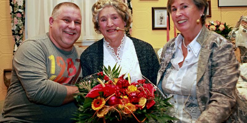 Andreas Schmitz, Monika Berg und Waltraud Rosenbaum (von links nach rechts)