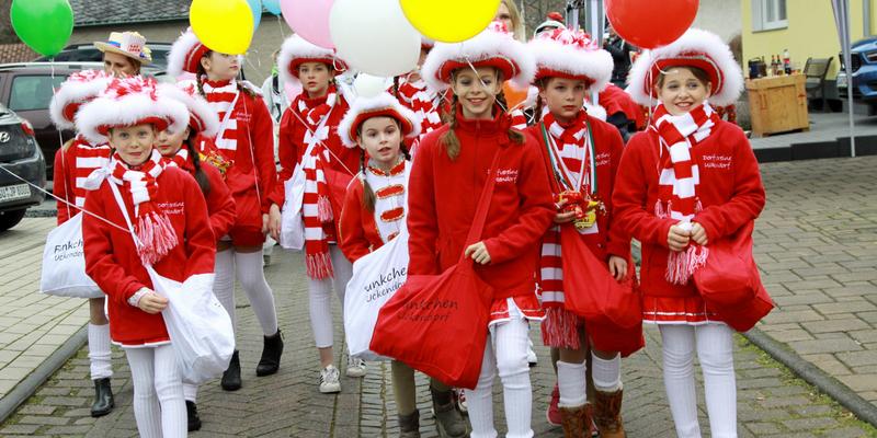 Karnevalszug in Uckendorf