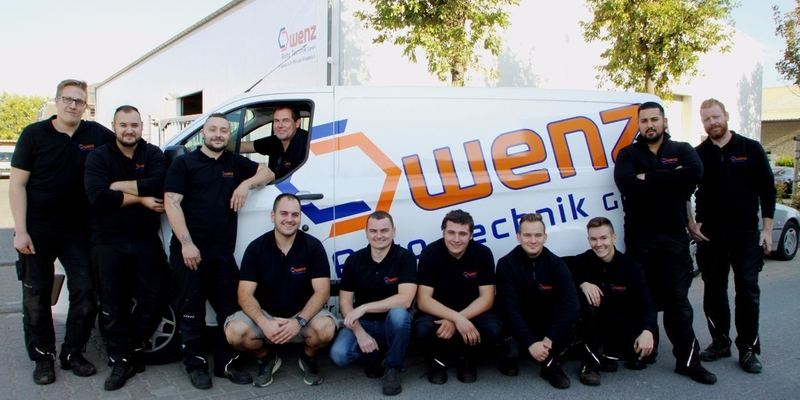 Das Team der Kfz-Werkstatt Wenz