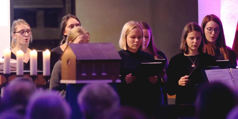 Mitglieder des Jugendchor