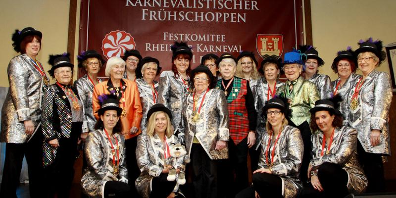 Das Damenkomitee anlässlich der FRK-Veranstaltung