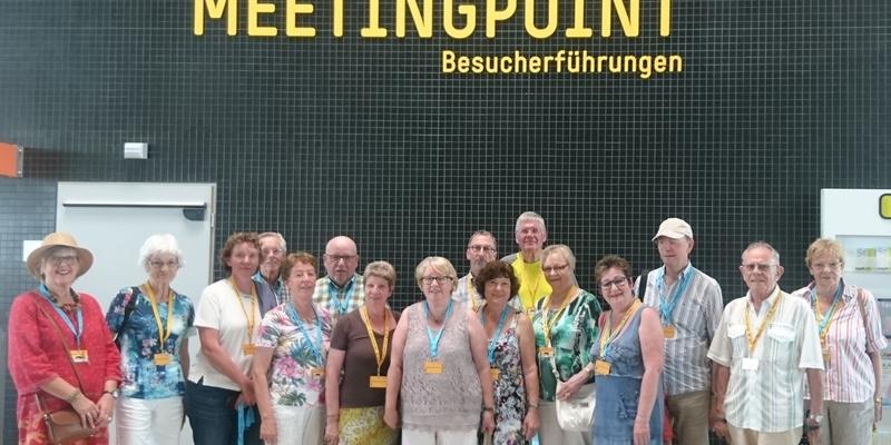 Die Chorgemeinschaft Cäcilia Zündorf am Flughafen Köln-Bonn