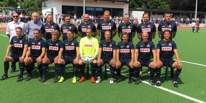 Der TuS Mondorf spielt am 3.10.2019 gegen die Traditionsmannschaft des 1.FC Köln