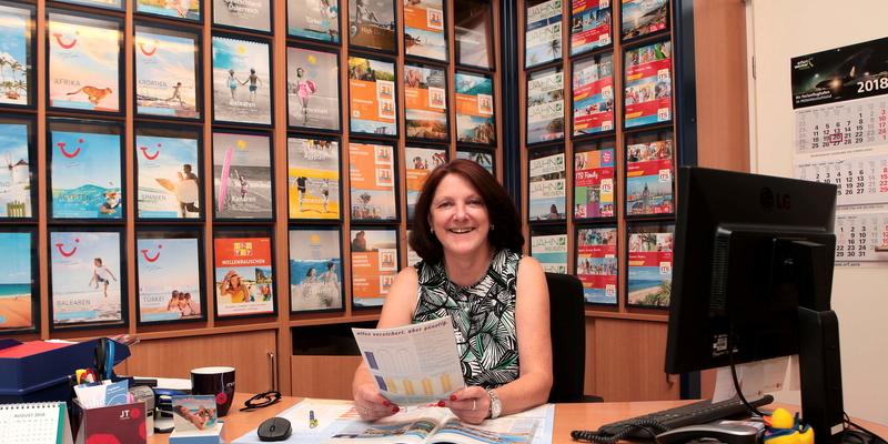 Petra Kretteck berät kompetent und freundlich zum Thema Reiseplanung