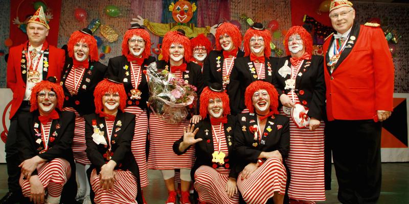 Der Veranstalter die Kolpingfamilie Mondorf und ihre Rotstielchen