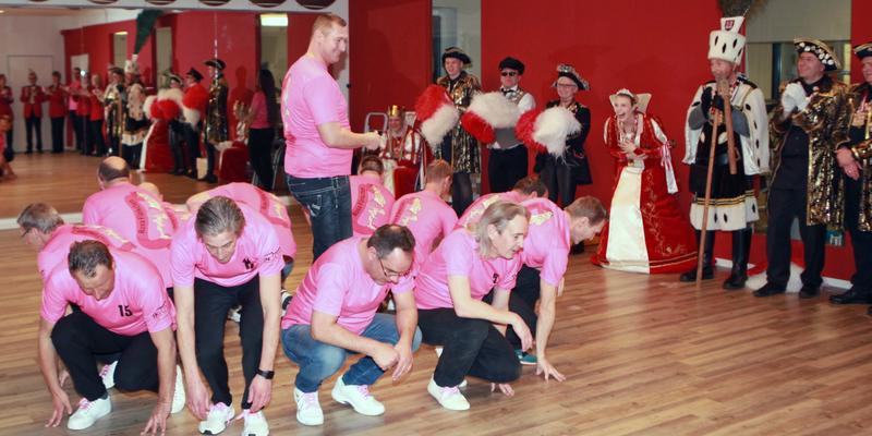 Prinzessin Lisa I. hatte großen Spaß an den Tanzdarbietungen