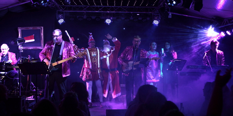 Die Akteure boten musikalische Unterhaltung vom Feinsten nicht nur beim Nikolaus & Prinz-Duell