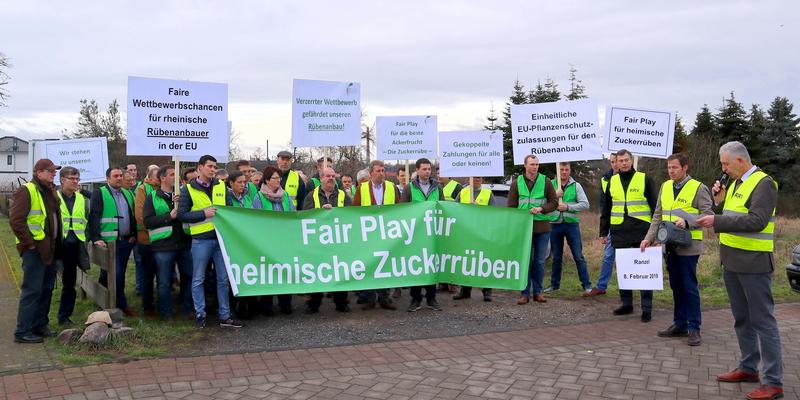 Die Rübenbauer fordern faire Bedingungen für den heimischen Anbau