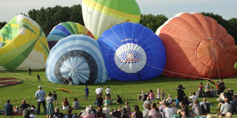 10. Ballonfestival in Bonn vom 8. bis 10. Juni 2018