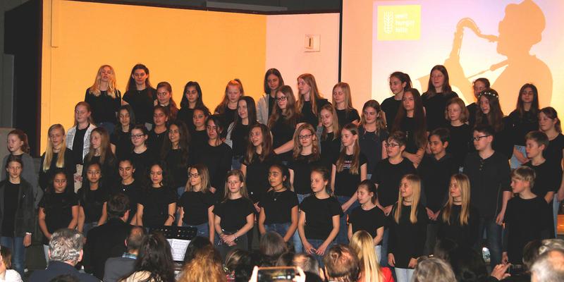 """Vielstimmig war der Chor """"Voices of KGN"""""""