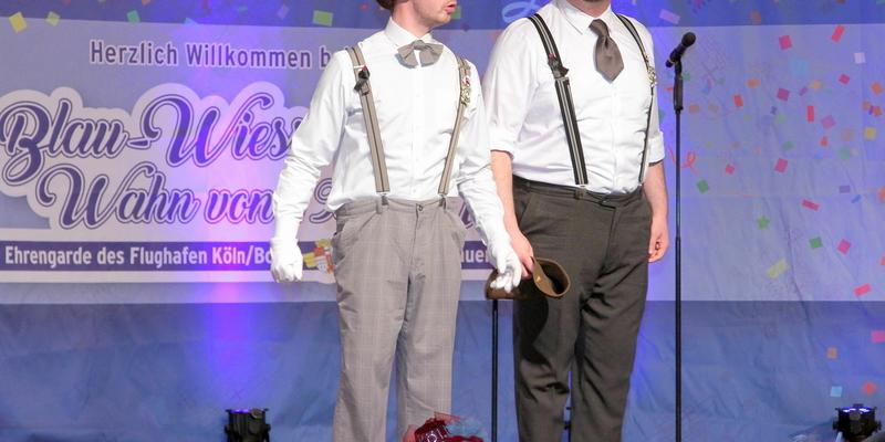 """Witzige Zwiegespräche lieferten sich """"Woosch & Wööschje"""""""