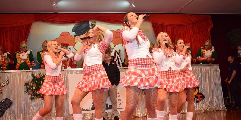 Die Funky Marys reisten aus Köln an – das Publikum dankte es ihnen
