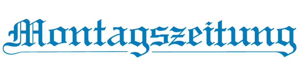 Montagszeitung Logo